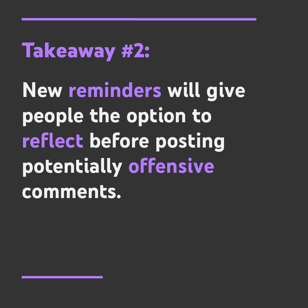 takeaway #2