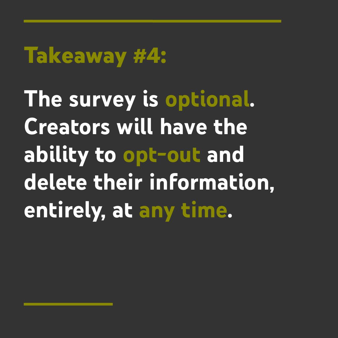 takeaway #4
