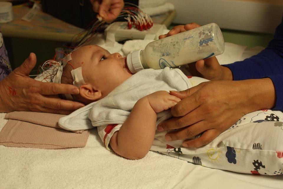 Baby Aaden in the Hospital