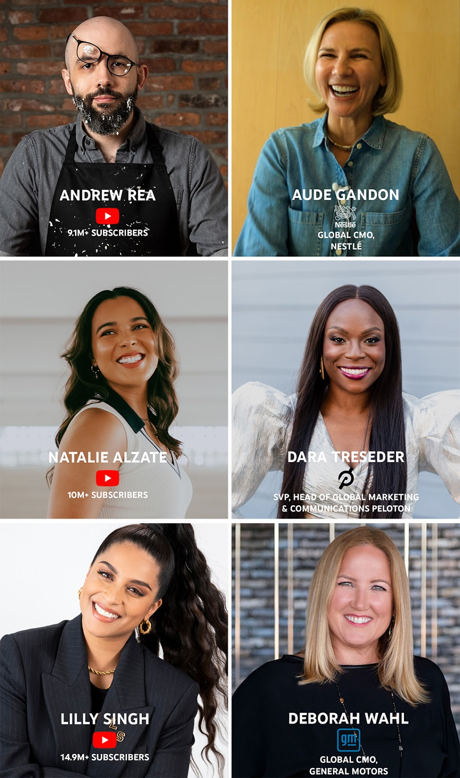 Leading CMOs learn from top YouTube creators on how to adapt their marketing playbook