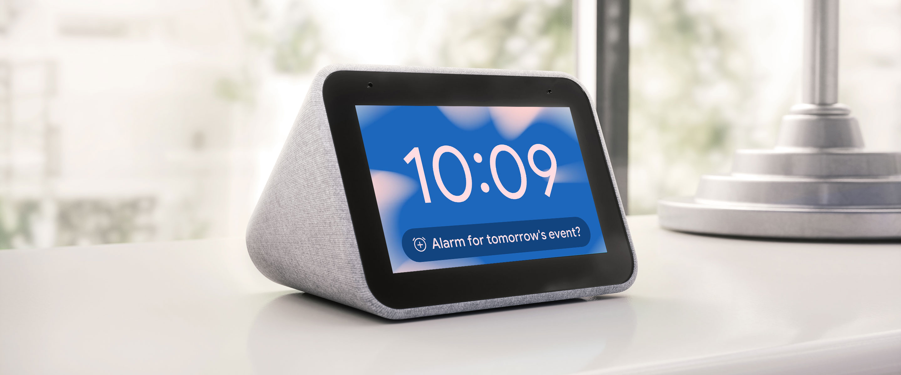 Rise and shine: new alarm clock features with the Assistant