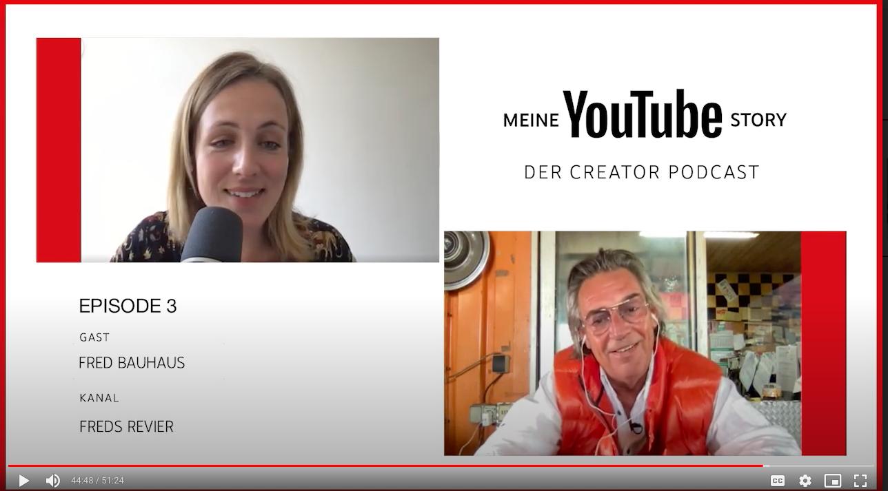 """Im Creator Podcast """"Meine YouTube Story"""" reden Lehrerschmidt und Fred über ihre Kanäle"""