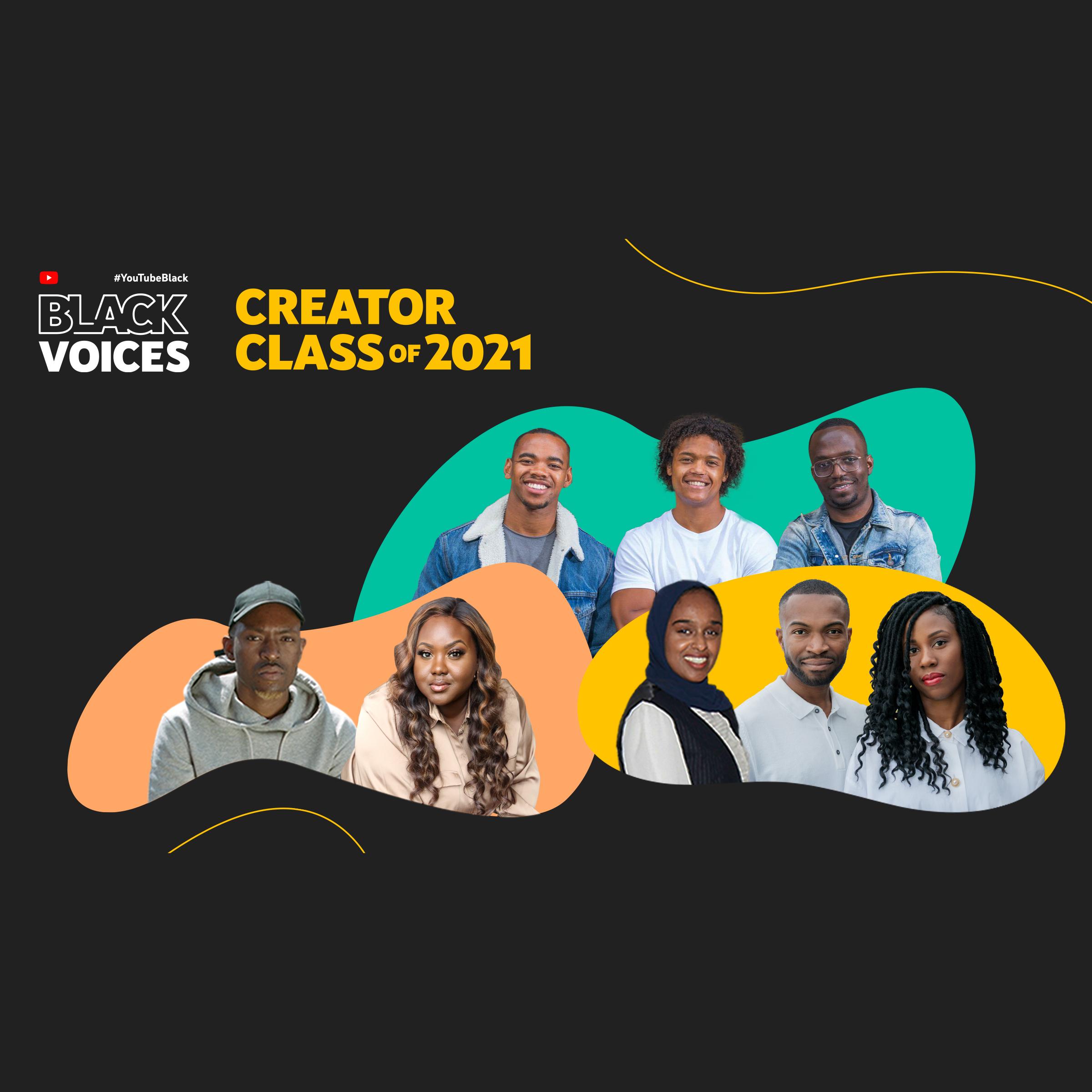 Meet the UK's #YouTubeBlackVoices Creator Class of 2021
