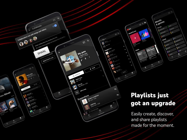 Melhore sua experiência com playlists no YouTube Music