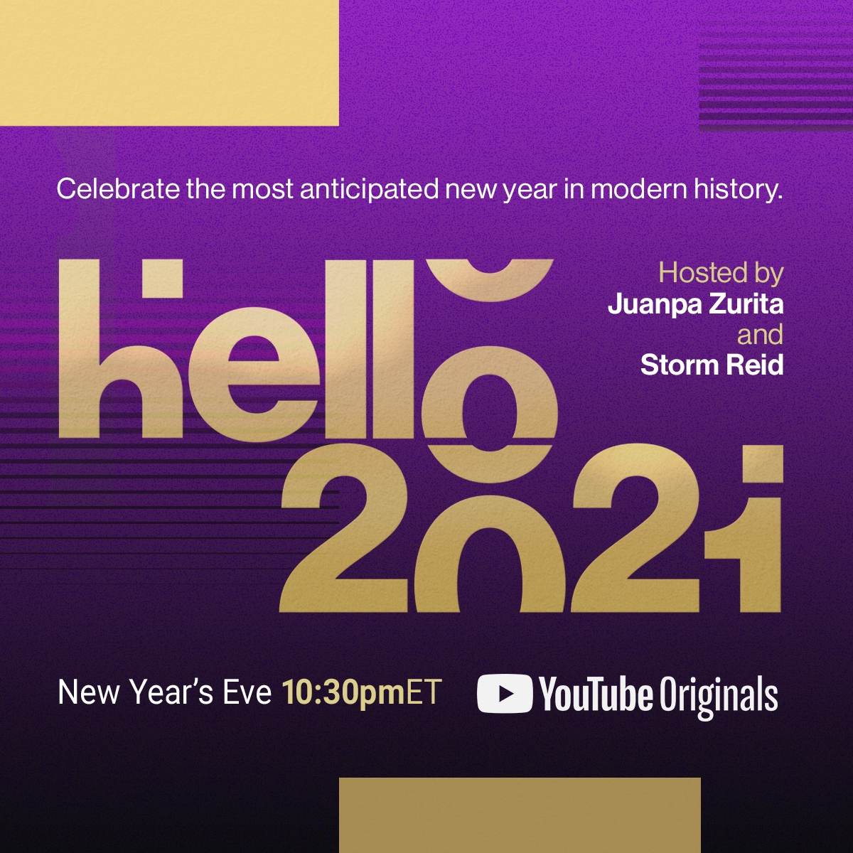 5 things to look forward to in YouTube's global New Year's Eve celebration