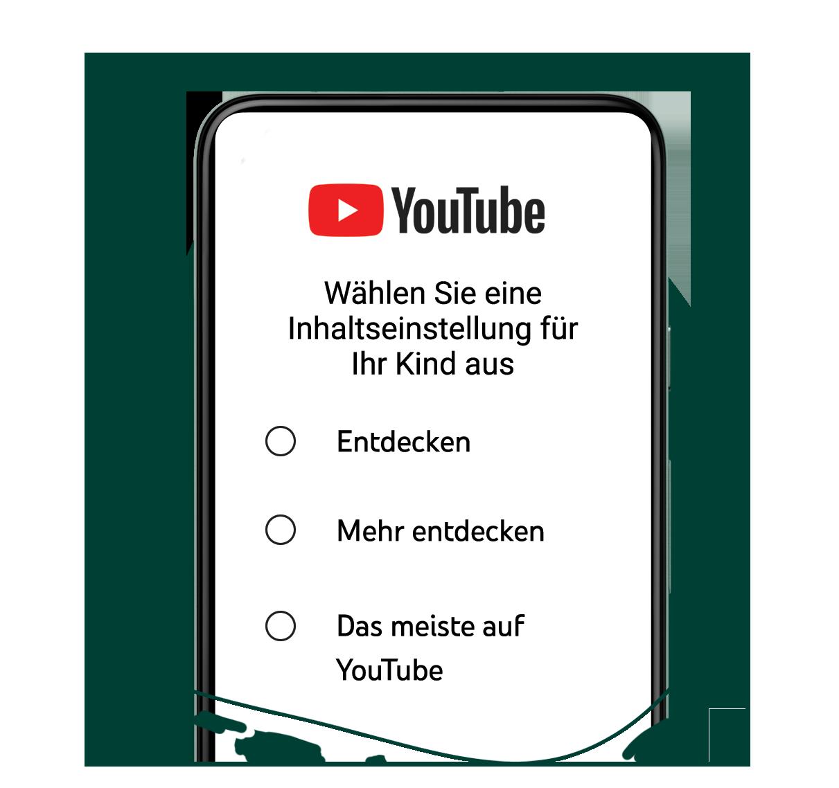 YouTube unter Elternaufsicht - die neue Funktion