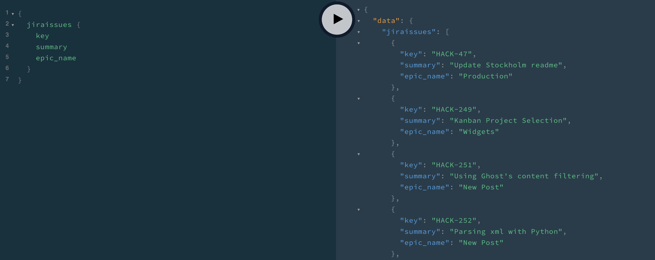Writing Your First GraphQL Queries | Hackers and Slackers | Data