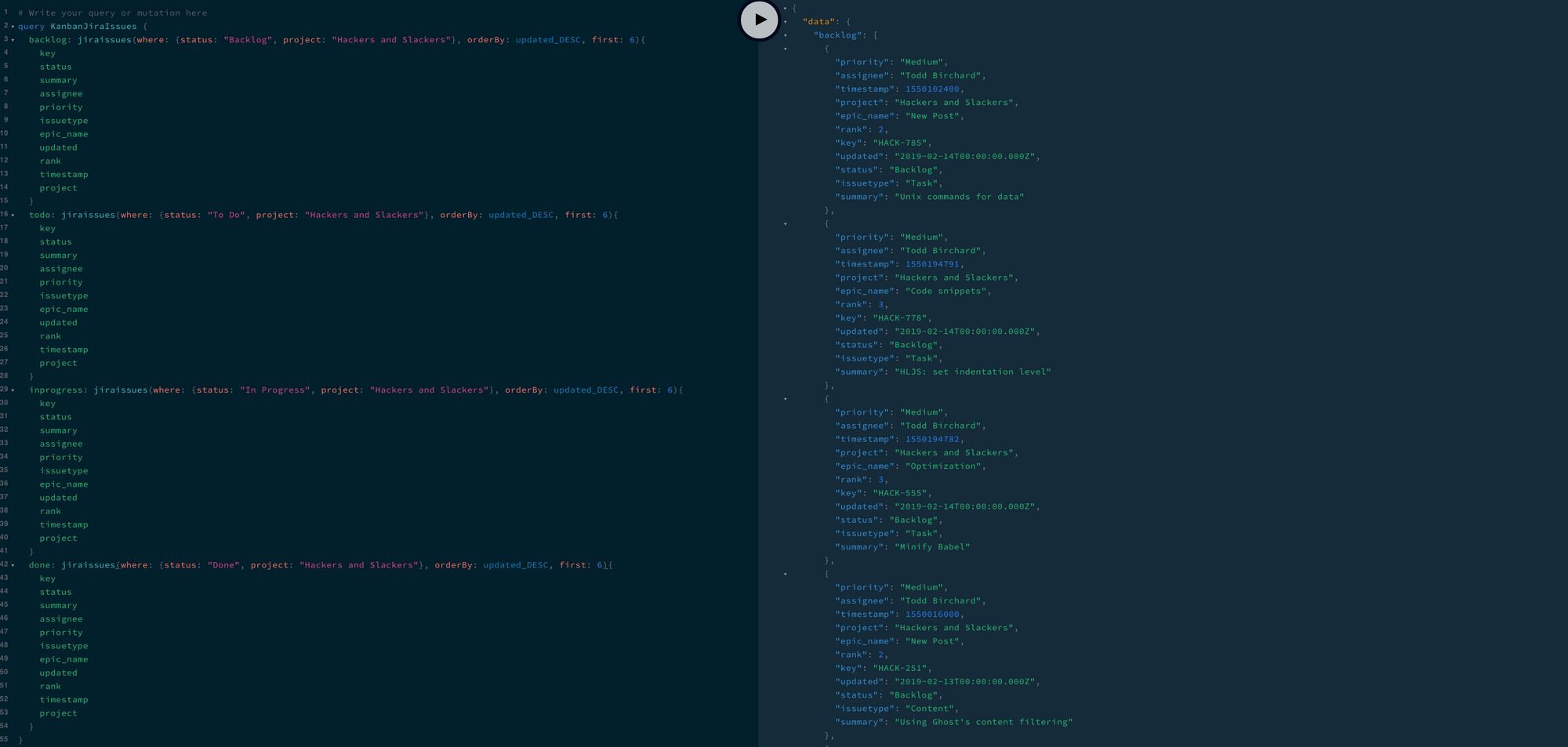 Writing Your First GraphQL Queries   Hackers and Slackers