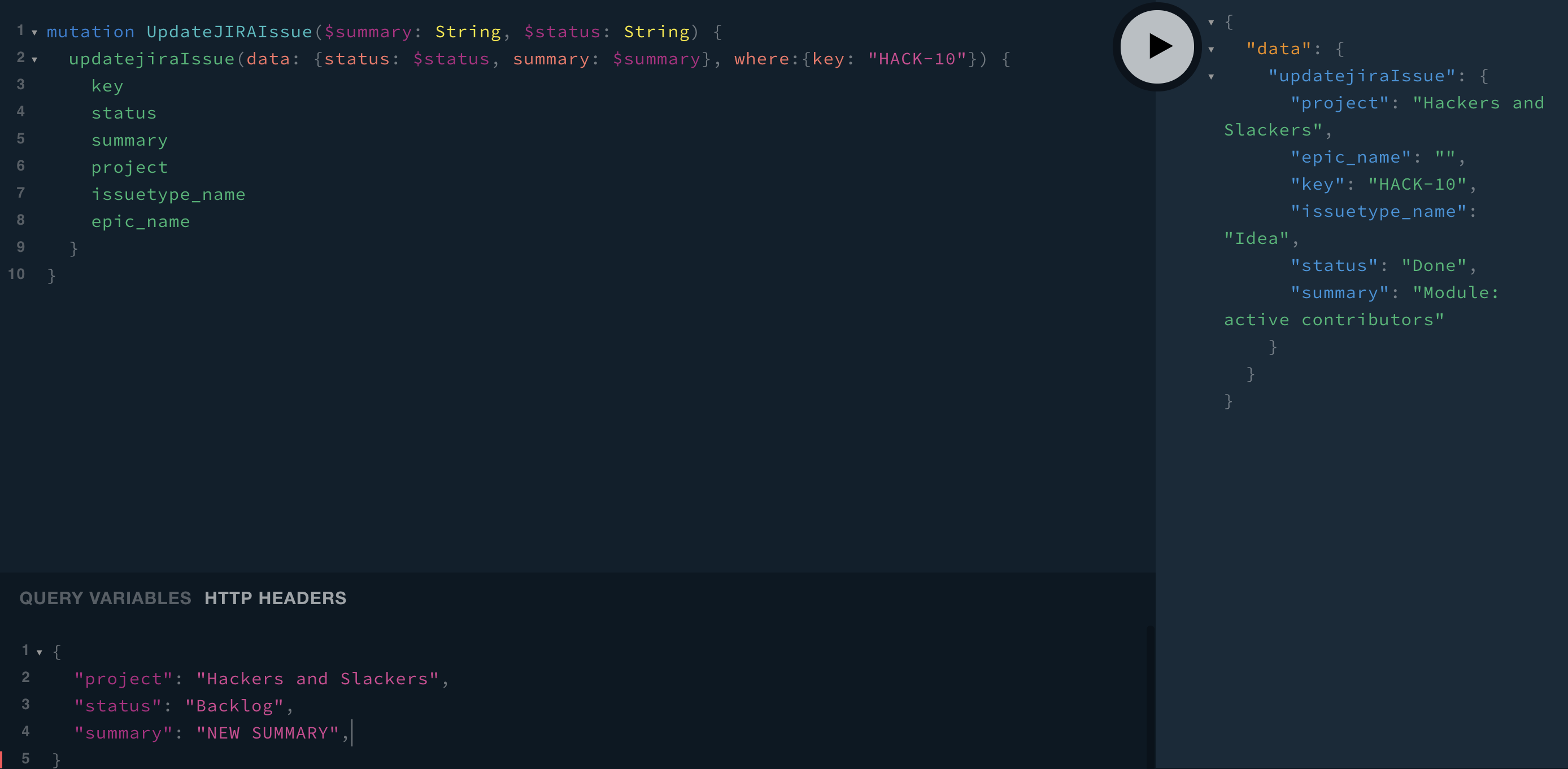 Syntax is just like creating nodes, but with an added where:{} statement.