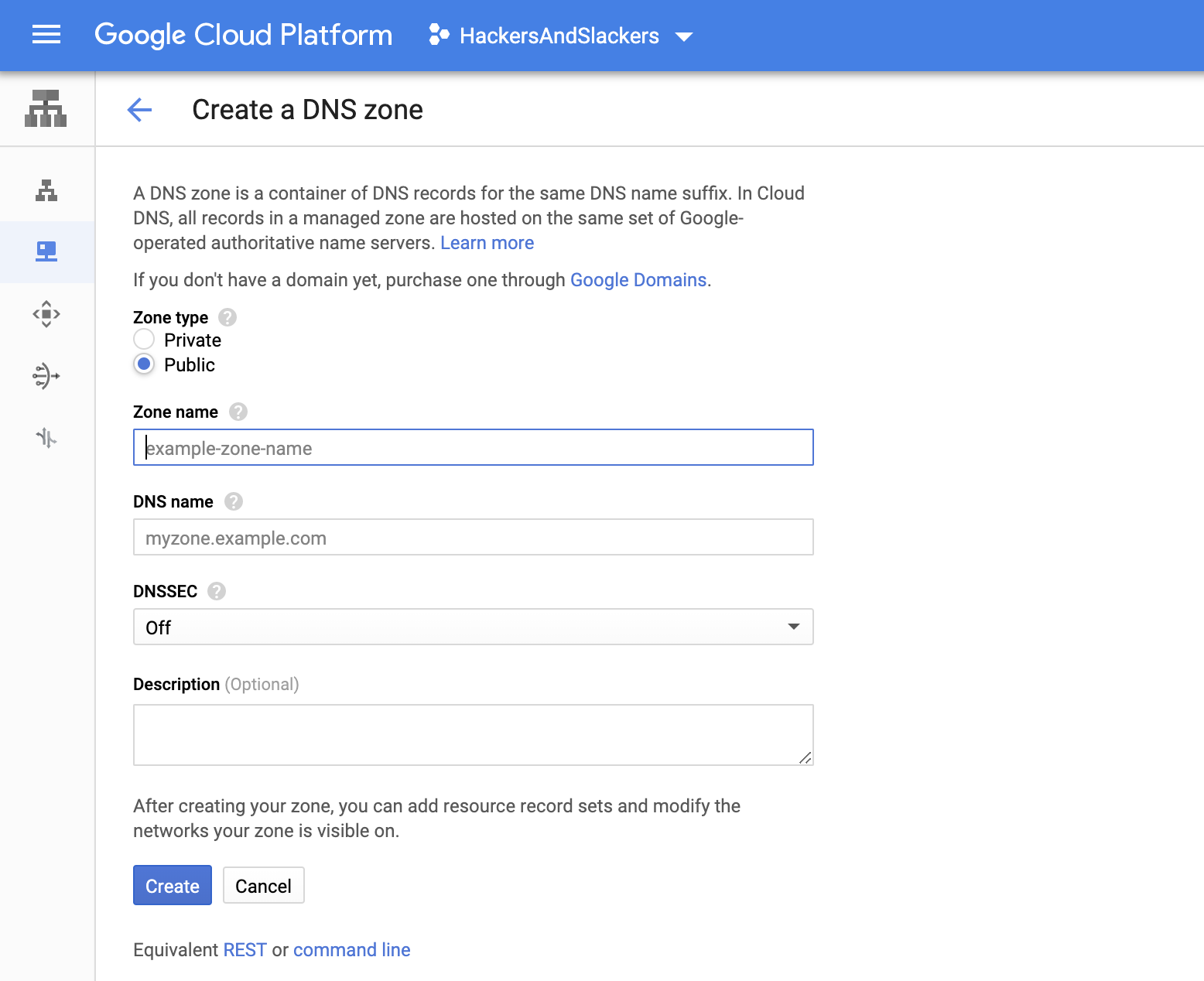 Create a VPS with Google Cloud's Compute Engine | Hackers
