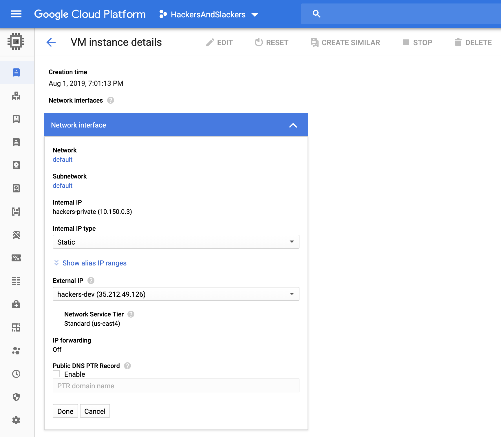 Create a VPS with Google Cloud's Compute Engine | Hackers and