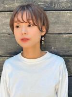 ar clip 表参道【アールクリップ】 マッシュショートスタイル