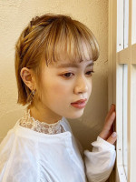 NATSUYA サイドハーフアップ風アレンジ