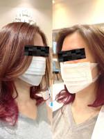 Hair Lounge Ayung 【ヘアラウンジ アユン】 インナーカラー/ベリーピンク