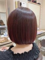 Hair Lounge Ayung 【Ayung銀座】ピンクブラウン×ボブ