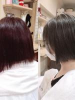 Hair Lounge Ayung 【ヘアラウンジ アユン】 オリーブアッシュ
