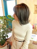 ALULU HAIR【アルルヘアー】 モーブネイビーグラデーション