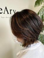 feAry hair design 【フィーリーヘアデザイン】太田市 大人かわいい前下がりボブ