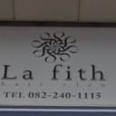 本通駅にあるLa fith hair clan 広島本通店【ラフィス ヘアー クラン】