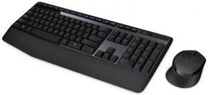 Memakai Tempat Mouse dan Keyboard