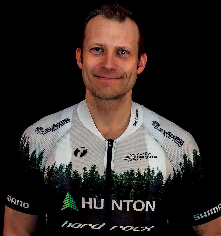 Fredrik Stephansen - Hunton Hard Rocx Cycling Team