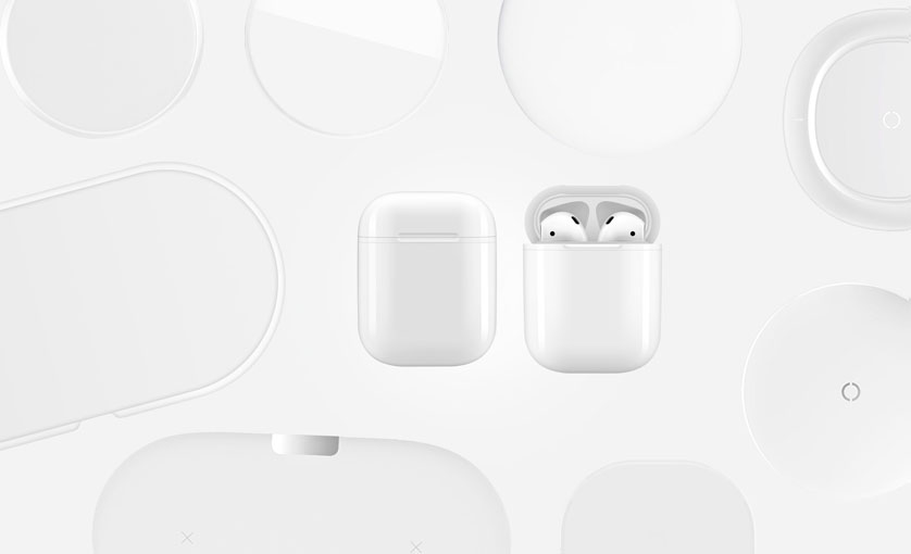 Wireless Charging Case für Apple AirPods