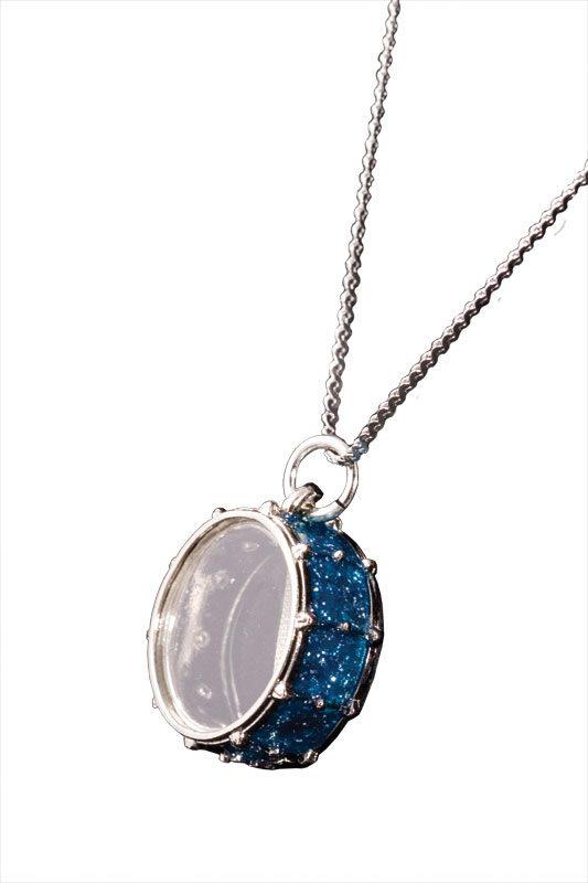 Snare Drum Key Chain Blue Harmony Jewelry