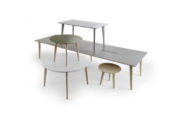 Borden Sarek för Lundbergs Möbler