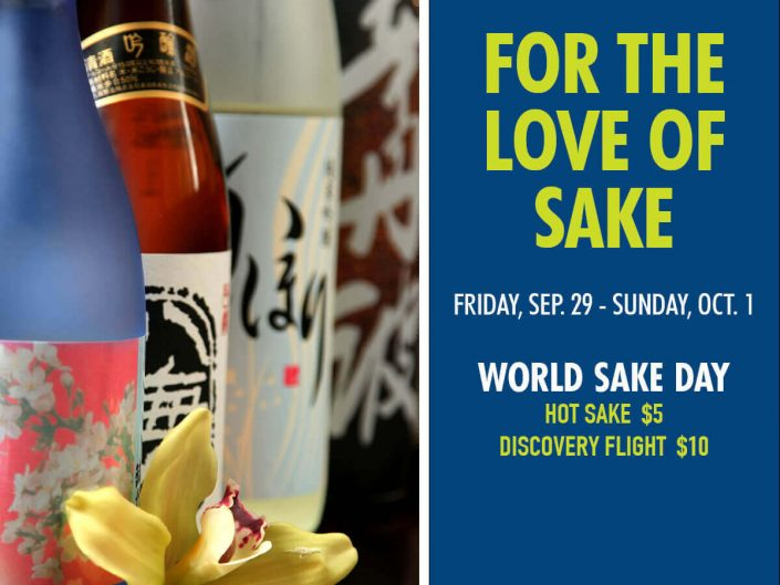 World Sake Day at Haru