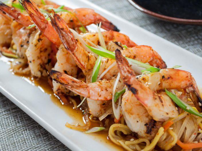 Hot Chili-Garlic Shrimp