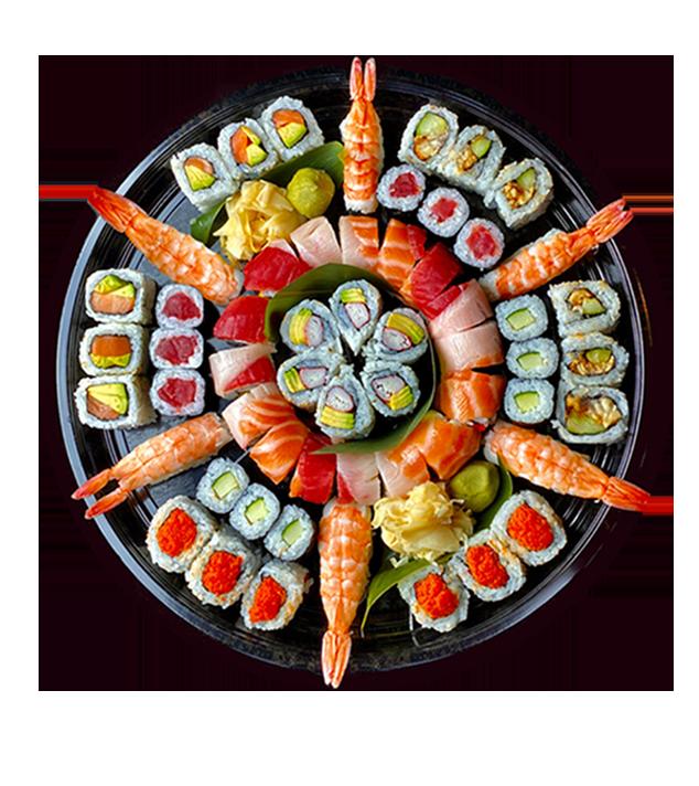 Downtown Sushi Platter