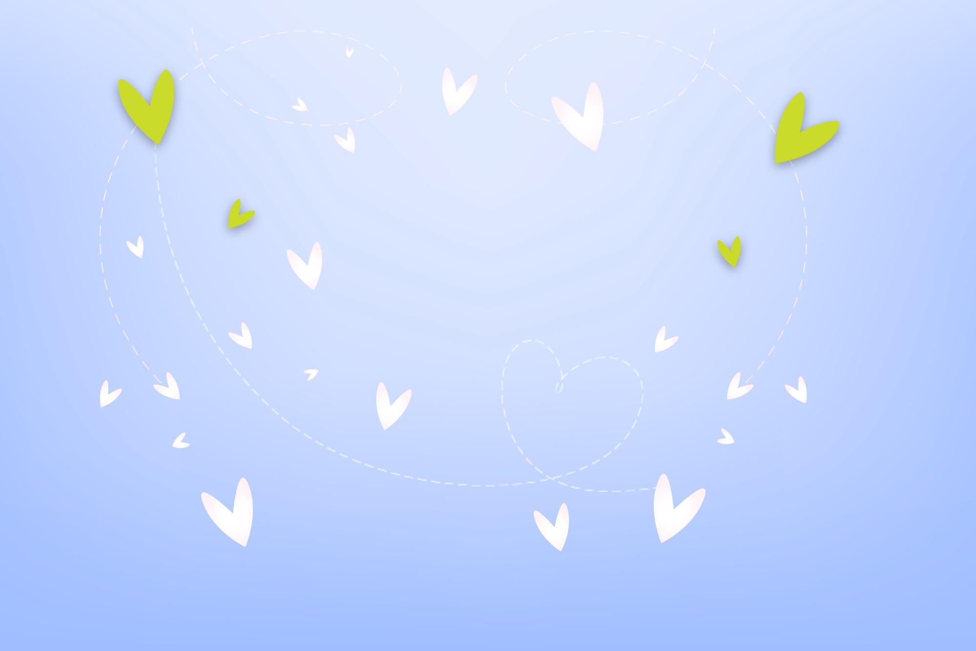 Valenitines heart background