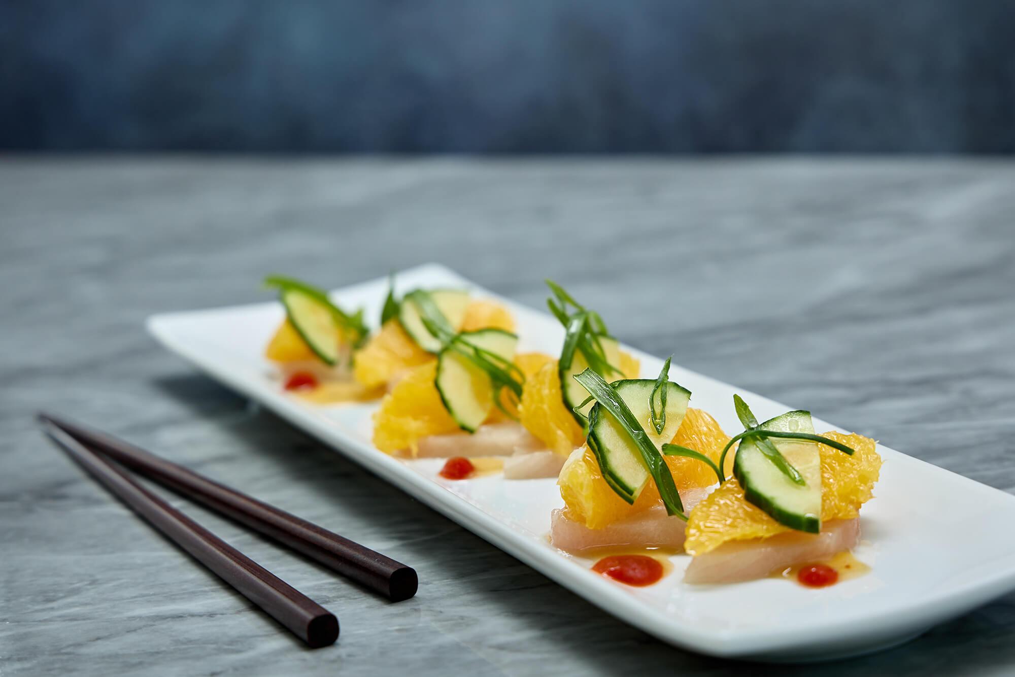 Hamachi & Citrus Sashimi