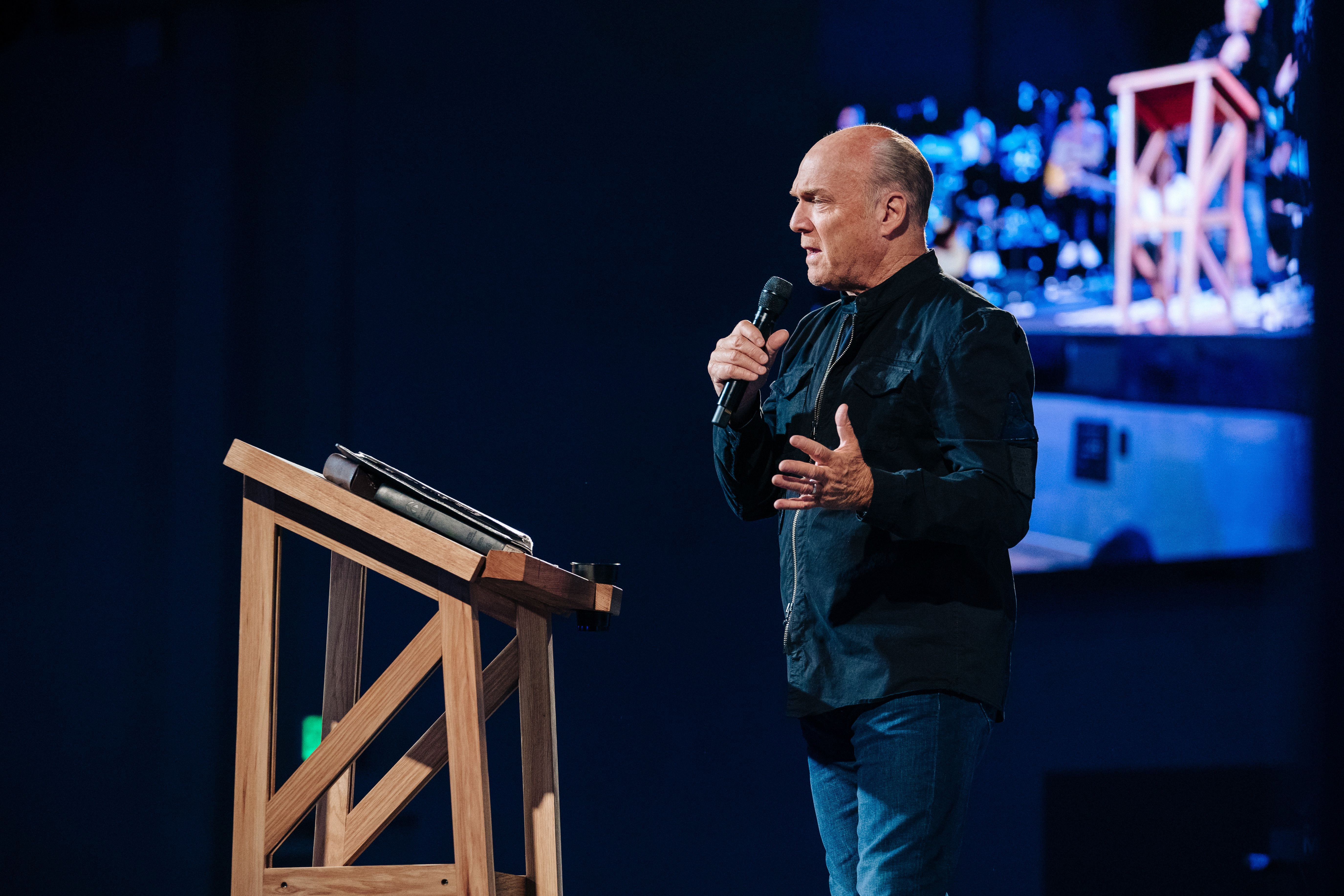 """Pastor Greg Laurie shares a message from Judges 16 in our """"Thursday Night"""" series at Harvest Christian Fellowship titled, """"The He-Man with the She-Weakness"""""""