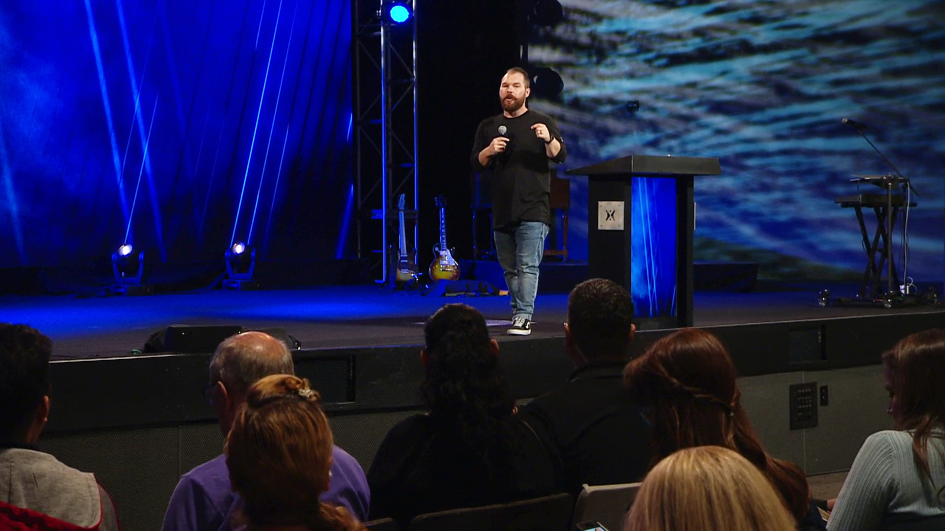 """Pastor Adam Eaton shares a message from God's word in Ephesians 6 in our """"Thursday Night"""" series at Harvest Christian Fellowship titled, """"Pray Always"""""""