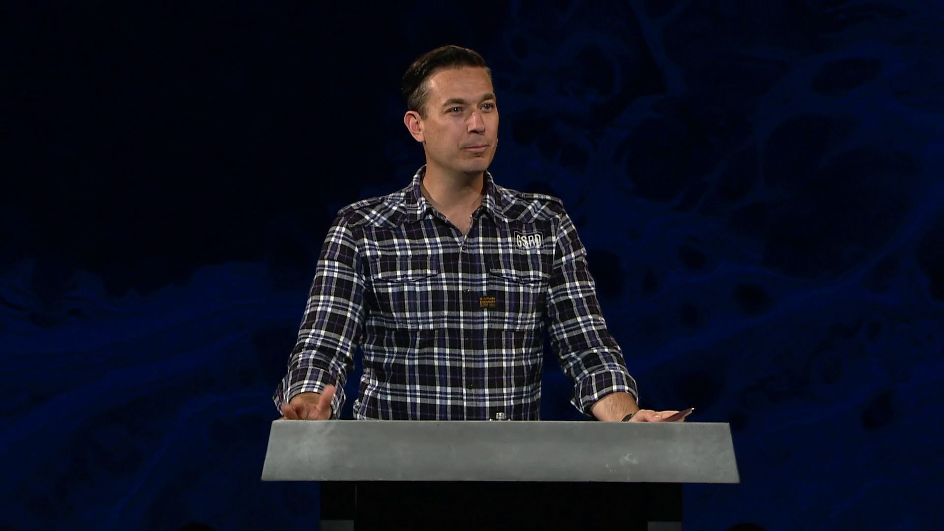 "pastor and teacher Jason Powell shares a message from Romans 15 in our ""Relentless Grace series"" at Harvest Christian Fellowship"