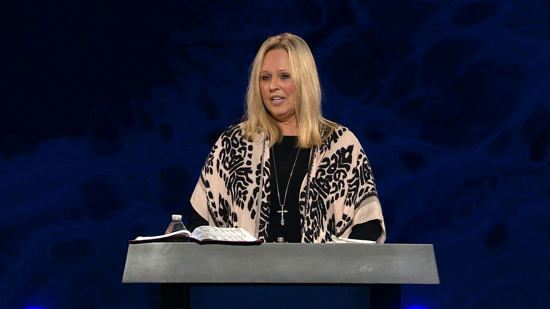 "Terri Green shares a message from Romans 13 at Harvest Christian Fellowship titled, ""Giving him our best"""