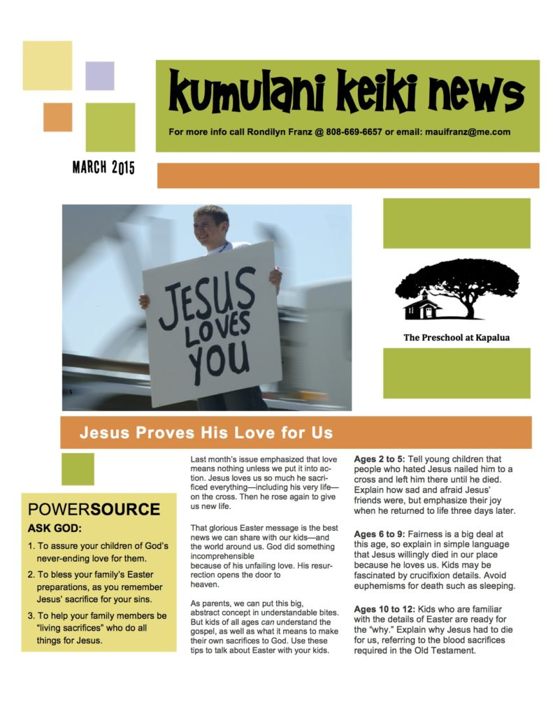 Mar15 newsletter p1