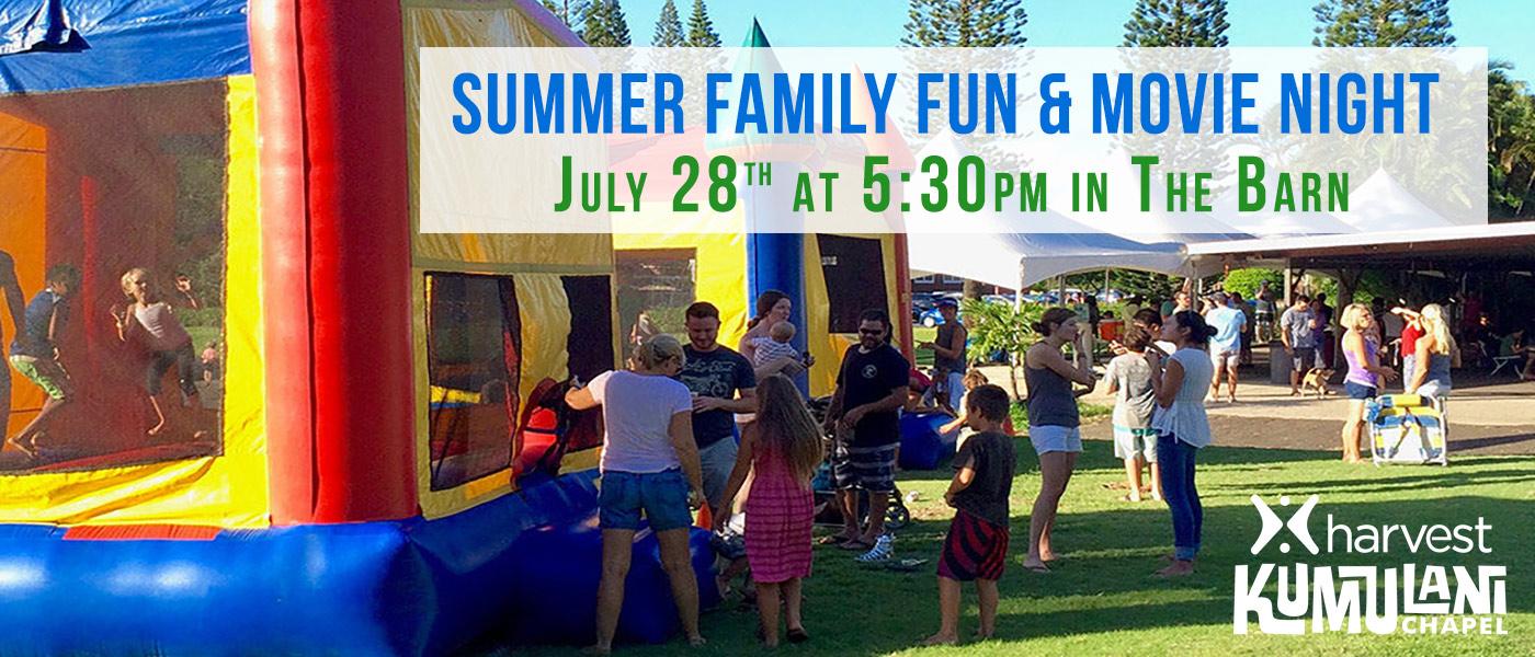 Summer Family Fun & Movie Night