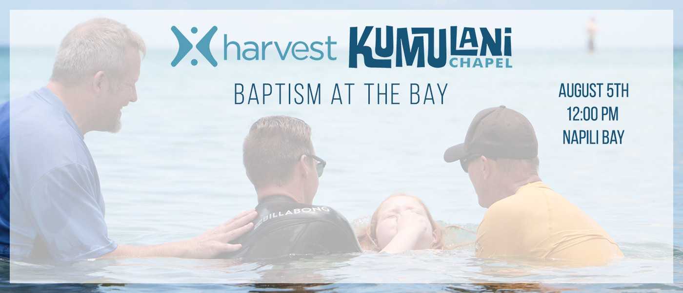 Baptism at Napili Bay 8-5-18