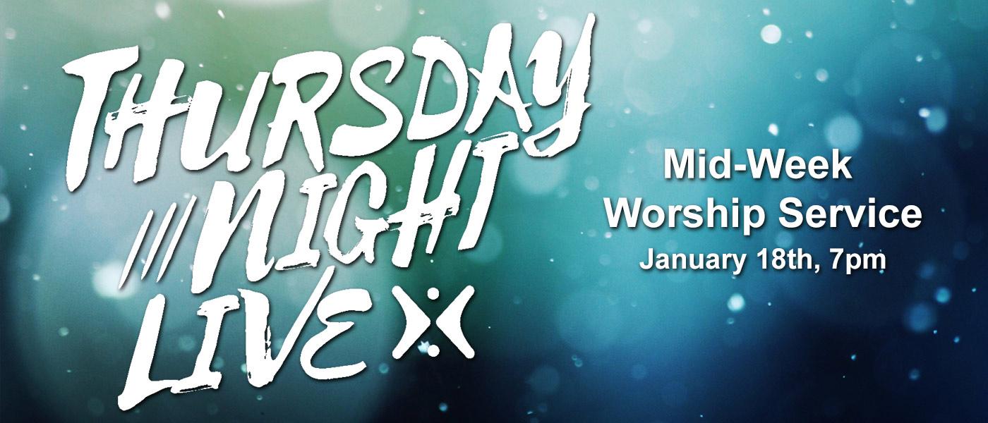 Thursday Night Live 1-18-18