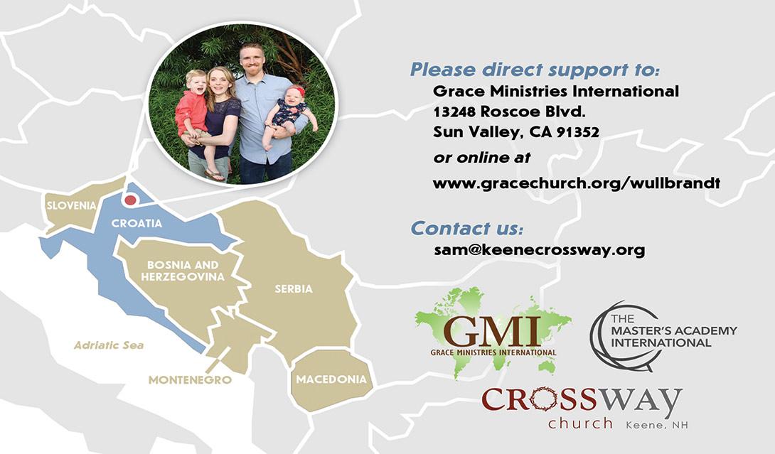 Croatia Missionaries: Sam and Sarah