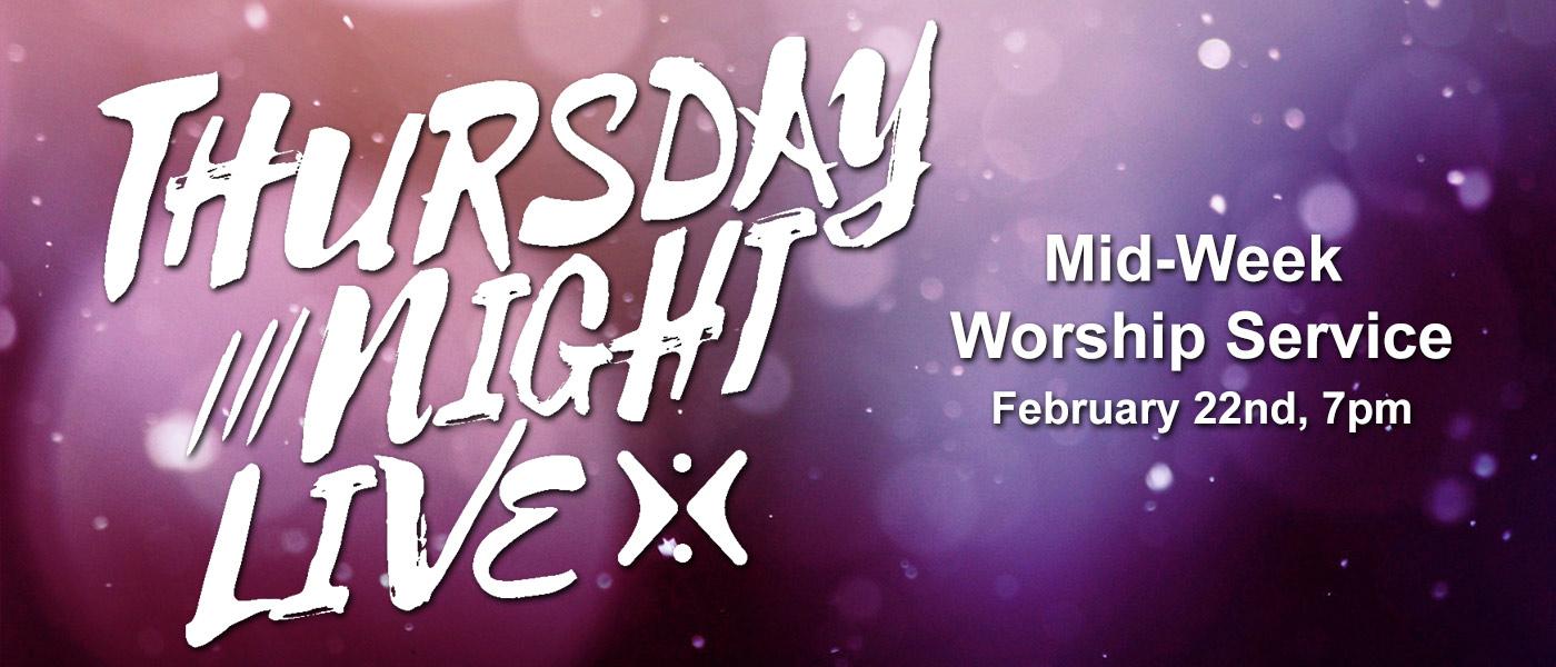 Thursday Night Live 2-22-18