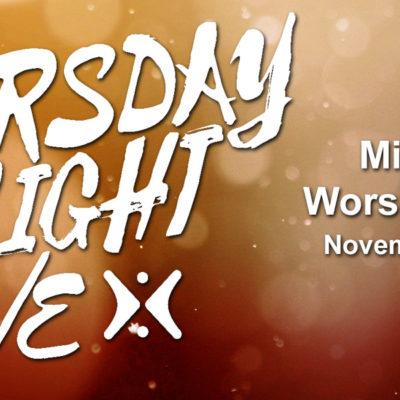 Thursday Night Live 11-15-2018