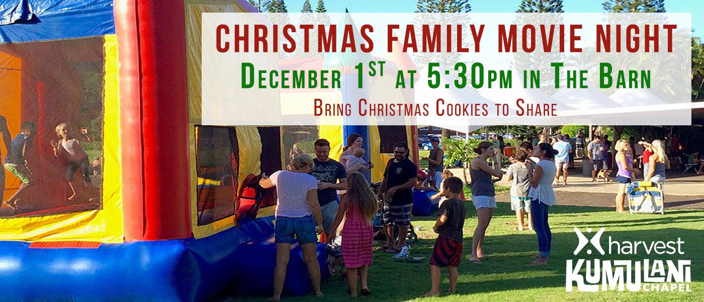 Family Christmas Movie Night