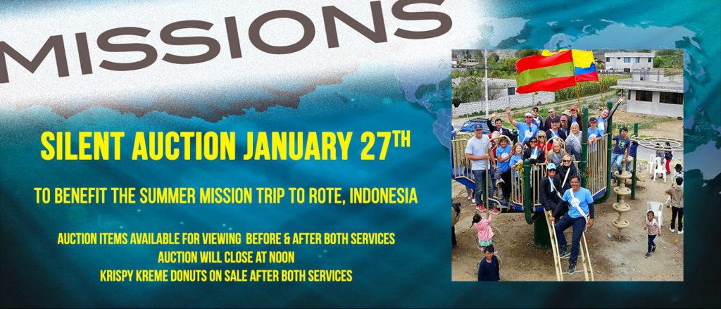 Missions Fundraiser Silent Auction