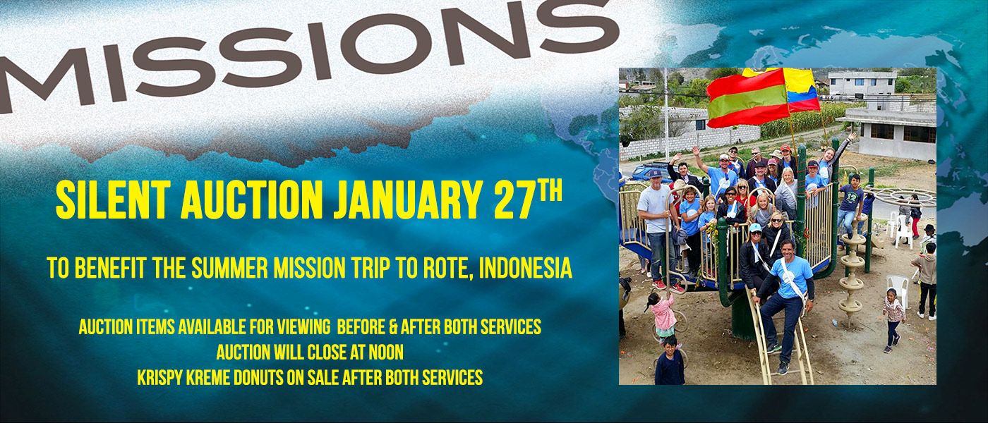 Missions Fundraiser Silent Auction