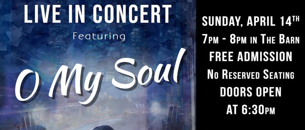O My Soul in Concert!