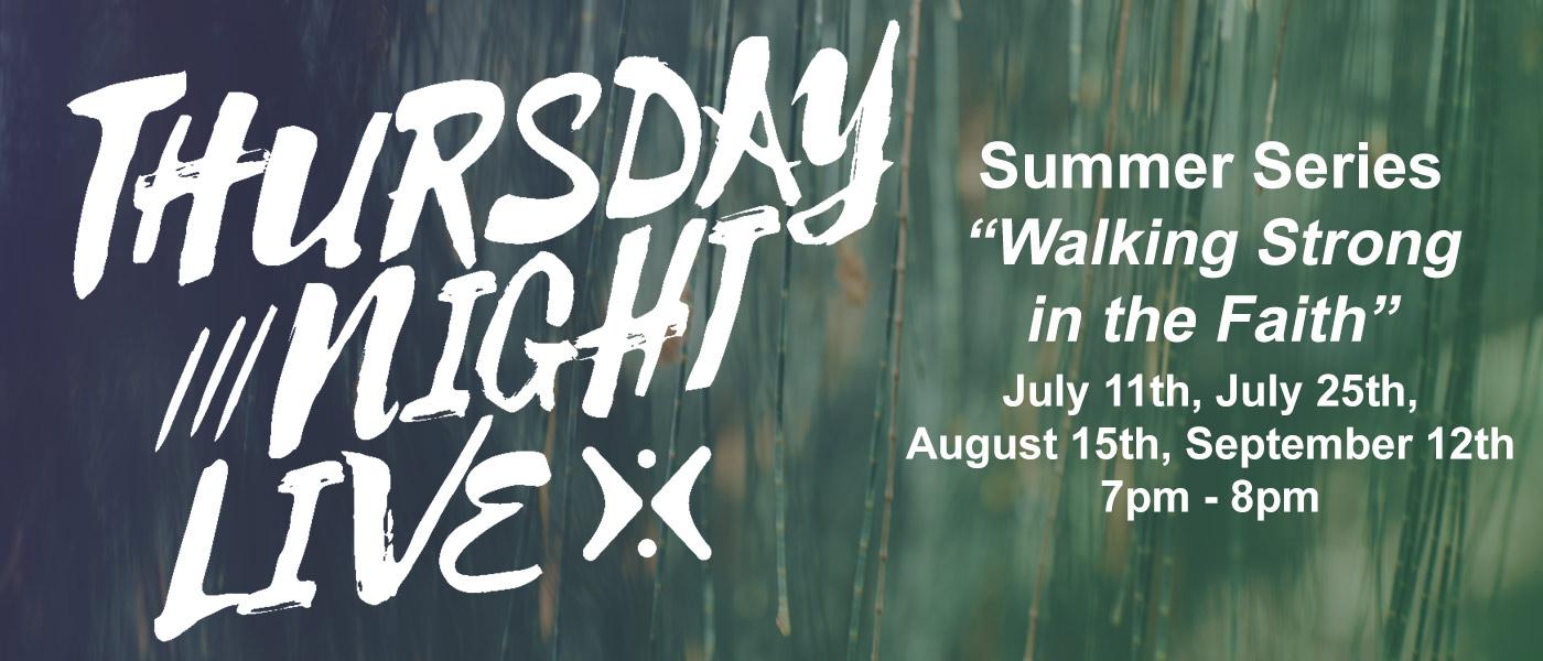 Thursday Night Live! Summer Series