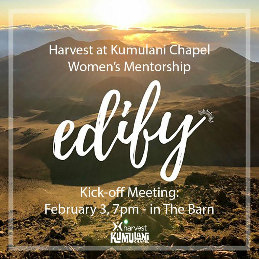 Edify: A Women's Mentoring Ministry